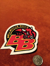 Belleville Bulls Stitched Shoulder OHL Hockey Crest Patch Logo 4 by 4.2 inches
