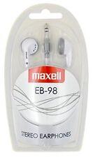 Maxell M500 - auriculares de Botón color blanco
