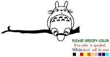 "Totoro on Branch Funny Vinyl Decal Sticker Car Window bumper laptop tablet 7"""