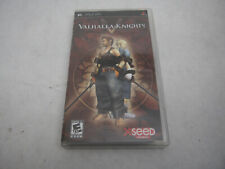 Valhalla Knights Sony PSP Game Complete Manual Case Paperwork Water Damage