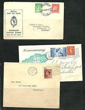 Gran Bretaña. Lote de 4 piezas de Historia Postal mas otras de otros paises