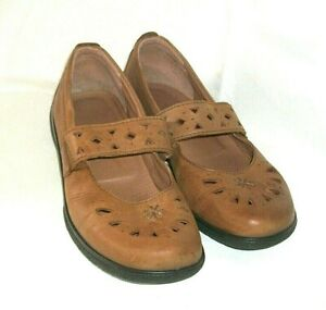 """Hotter """"Sweet"""" Comfort Concept Slip On Shoes in Tan Leather Size 4 UK"""