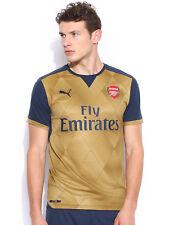 PUMA Men's ARSENAL FLY EMIRATES GOLD/COPPER T-Shirt - X LARGE Size