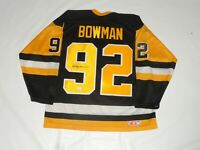 SCOTTY BOWMAN SIGNED PITTSBURGH PENGUINS 1992 CUP JERSEY LICENSED JSA COA