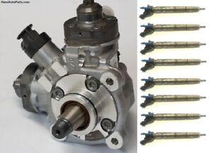 Rebuilt 11-18 Ford 6.7 Diesel Pump + Injectors  F250 F350 450 Powerstroke HPFP