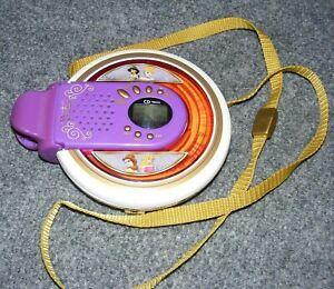 Rare DISNEY Princess SING-A-LONG Portable CD Player Karaoke Built in Speaker