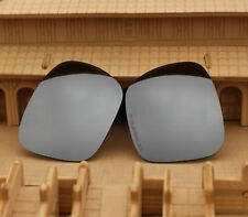 ACOMPATIBLE Polarized Lenses Replacement for-Oakley Holbrook - Silver Mirror