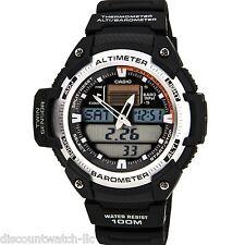 Casio SGW400H-1B Mens Sports Gear Twin Sensor Watch Altimeter Barometer 5 Alarms
