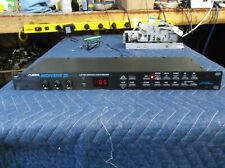 Alesis Midiverb 111 16bit digital sound processor with power adptor