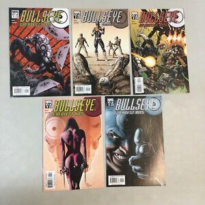 Bullseye Greatest Hits 1-5 Full Set 1 2 3 4 5 Marvel Comics 2004 (BU01)