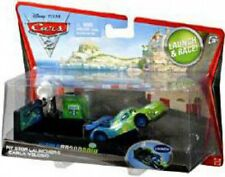 Disney Cars Cars 2 Pit Stop Launchers Carla Veloso Diecast Car [With Launcher]