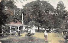 Kirkland Pavilion, Devil's Lake, Wisconsin Antique Postcard (T1467)
