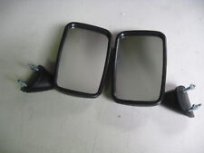 ESCORT MK2, FIESTA MK1, PAIR OF DOOR MIRRORS IN BLACK,