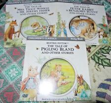 Daily Mail Promo DVD Children's Classics - Beatrix Potter x 3 Animated Stories