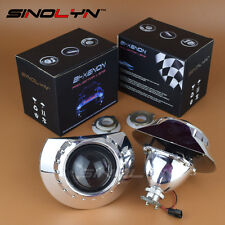 2.5'' Bi-xenon Projector Lens Headlights Retrofit For BMW 3 E46 Non Projector
