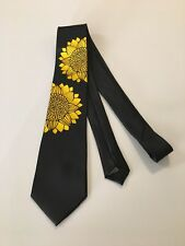 Sunflower Wedding Necktie , High Quality, One Of A Kind