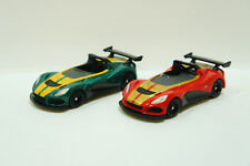 TOMICA~ No.112LOTUS 3-ELEVEN Green & Red(初回) 2 cars ~ 1/59  Free Shipping