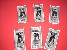 HARRY POTTER PEEL OFFS 6 pack
