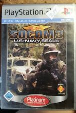 SOCOM 3 U.S. NAVY SEALS IN OTTIME CONDIZIONI IN TEDESCO PS2 PLAY STATION 2
