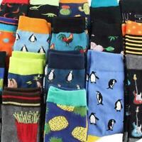 Cool Animal Food Hip Hop Crew Socks Funny Street Happy Socks Men Harajuku D D3P7