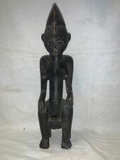 Scultura africana in legno ebanizzato cm 43x11x9 Antikidea