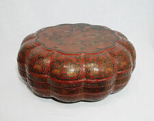 Large  Chinese  Lacquerware  Of  Box  With  Mark     M1102