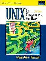 UNIX for Programmers and Users, 3/e Glass