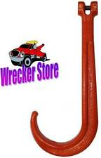 G80 CLEVIS J RECOVERY HOOK FOR CHAIN, WRECKER, TOW TRUCK,.WINCH, Grade 80