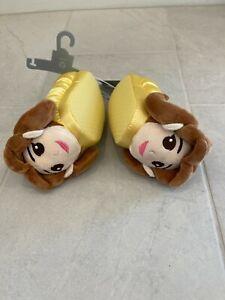 NWT Disney store Belle Slippers 5/6 princess Toddler Kids
