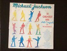 Very Rare: 1983 Michael Jackson 14 Greatest Hits All Originals with Jackson 5