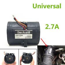 1x 2.7A Car Auto Electric Turbine Turbo Double Fan Supercharger Boost Intake Fan
