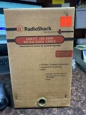 Radio Shack 100-FT RG-6/U Coax Cable