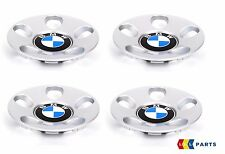 NEW GENUINE BMW  E34 E32 E31 ALLOY WHEEL HUB CENTER CAPS SET OF FOUR STYLE 21
