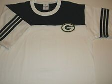 Green Bay Packers Stitched Tee T-Shirt, Green/White, Men's L, Nfl, Free Shipping