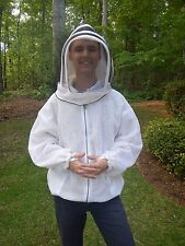 Fully Ventilated Beekeeping Jacket w/Hood / 10X-LARGE / Outstanding Quality
