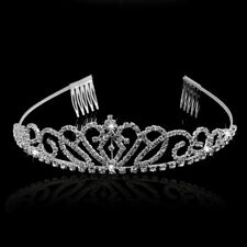 Diadem Tiara Haarreif Haar Krone Hochzeit Braut Haarschmuck Prinzessin Party
