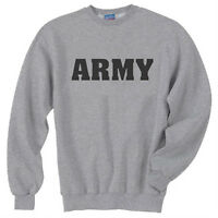 United States Army Military JERZEES Crew Neck Sweatshirt SM To 4XL THE BEST