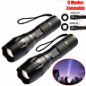 20000 LM 5 Modes Tactical T6 LED 18650 Flashlight Zoomable Lamp Aluminum Torch
