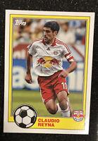 2021 TOPPS MLS 1981 Base #T81-3 Claudio Reyna New York Red Bull's CENTERED MINT!