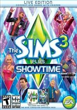 The Sims 3 Plus Showtime Brand New Sealed  (PC, 2012)