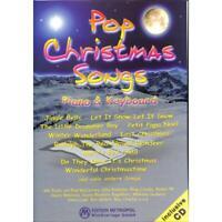 Pop Christmas Songs - mit CD - für Klavier und Keyboard