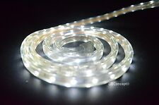 CBConcept® UL Listed,164 Feet,18000 Lumen,Pure White 6000K,120V LED Strip Rope