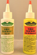 Wild Growth Hair Oil, Light Oil Moisturizer or Duo Pack Hair Oil 4 oz