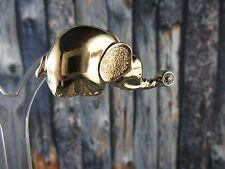 "C315⭐⭐ Vintage Designer "" Pierre Lang "" Elephant Button Brooch Pendant ⭐"