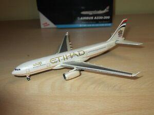 GEMINI AIRBUS A330-200 ETIHAD 1/400 RARE