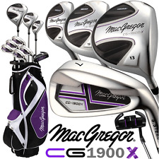 """NEW 2017"" MACGREGOR CG-1900X HIGH LAUNCH LADIES COMPLETE GOLF SET & CART BAG"
