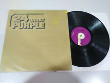 "Deep Purple 24 Carat Purple EMI 1975 Spain Edition - LP 12"" Vinilo G+/VG"