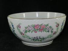 """VINTAGE ROYAL COPENHAGEN """"Flowers of Copenhagen Bowl"""" 1982 Excellent FRUIT BOWL"""