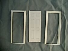 Half Scale 1:24 Georgian Interior Door Jackson Miniatures Dollhouse plastic #L02