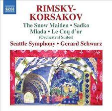 Rimsky-Korsakov: The Snow Maiden; Sadko; Mlada; Le Coq d'or, New Music